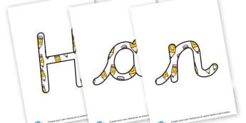 Handwriting - display lettering - Literacy Area Classroom Signs and Labels, Literacy Signs, Literacy