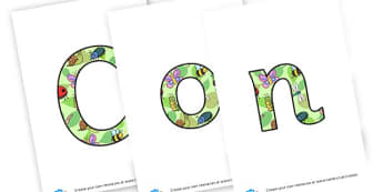 Conkers Lettering - Conker Themed Classroom Signs Primary Resources, classroom, labels