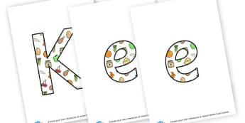 Keeping Healthy - Display Lettering - KS2 Display, Topics, Staying Healthy, Display, KS2 Topics