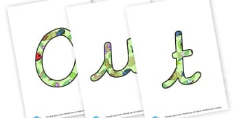 Outdoor Learning - display lettering - Outdoor Area Primary Resources, outdoors, PE, signs, visual aids