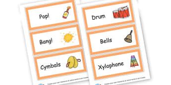 Music Area Cards - Listening & Music Area Primary Resources, signs, area, zones