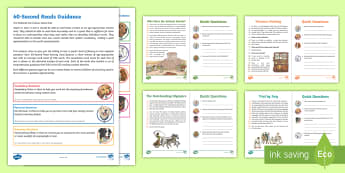 UKS2 60-Second Reads: Ancient Greece Activity Pack - Ninety Words Per Minute, Speed Read, Sixty Second Reads, Assessment, Reading, Timed Reading