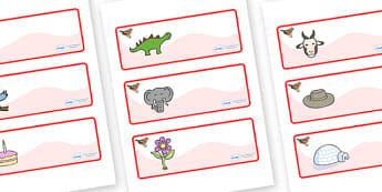 Chaffinch Themed Editable Drawer-Peg-Name Labels - Themed Classroom Label Templates, Resource Labels, Name Labels, Editable Labels, Drawer Labels, Coat Peg Labels, Peg Label, KS1 Labels, Foundation Labels, Foundation Stage Labels, Teaching Labels