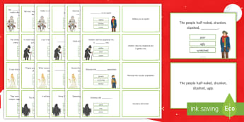 A Christmas Carol Quotation Quiz Flashcards - Dickens, Charles dickens, quotes, quotations, GCSE quotes, key quotes, key quotations, A Christmas C