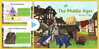 Middle Ages Presentation - middle ages, medieval, history, presentation, powerpoint