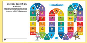 Emotions Board Game, psed early years