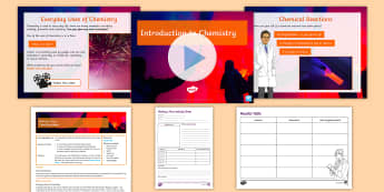 Year 7 Introduction to Science Lesson 6 Chemistry Making a Flare Lesson Pack - chemistry, bunsen burner, flame test, flare, method, variables, every day chemistry