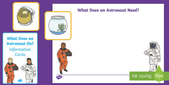 What Do Astronauts Do? Resource Pack - Back to Earth with a Bump, Twinkl Originals, Story, Space, EYFS, spacecraft, rocket, mission, planet