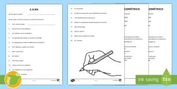 Cuestionario sociométrico para 10-12 años - sociograma, cuestionario, sociométrico, relaciones sociales,Spanish