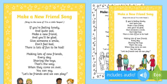 Make a New Friend Song