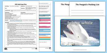 EYFS The Penguin's Packing List Adult Input Plan and Resource Pack to Support Teaching on Lost and Found  - Lost and Found, Oliver Jeffers, polar regions, penguin, trip, packing, list, writing, english, liter