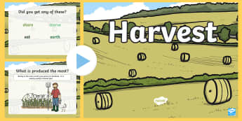 CFE Harvest Assembly PowerPoint - harvest, assembly, presentation, sharing, farmer, farming, Scottish