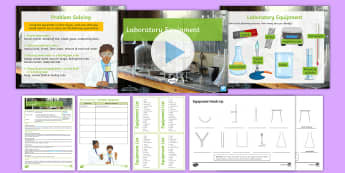 Year 7 Introduction to Science Lesson 2: Finding Your Way Around a Laboratory - experiment, practical, equipment, bunsen burner, diagram