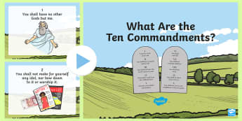 The Ten Commandments - The Ten Commandments PowerPoint