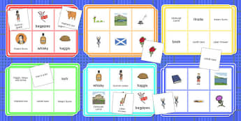 Burns Night Bingo - Elderly, Reminiscence, Care Homes, Burns' Night