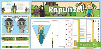 Childminder Rapunzel EYFS Resource Pack - Fairy Tale, Fairytale, Traditional Tale, Disney, Tangled, Child Minder, Childminding