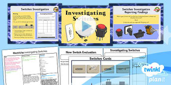 Science: Electricity: Investigating Switches Year 4 Lesson Pack 6