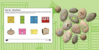 Dear Zoo Story Stones Image Cut Outs - dear zoo, story stones, image, cut outs