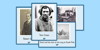 Tom Crean Display Posters - Tom Crean, Irish History, South Pole, Antarctica, display, photo pack, posters