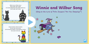 Winnie and Wilbur Song PowerPoint