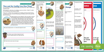 KS2 Myths and Legends Focused Reading Skills Comprehension Pack - Year 3, Year 4, Year 5, Year 6, understanding, reading dogs, SATs style questions, content domains,