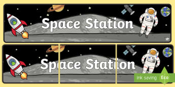 Space Station Role Play Banner-space station, role play, banner, role play banner, space station role play, space station banner, display
