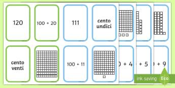 Gioco del valore posizionale Gioco da Tavola - gioco, da, tavole, valore, posizionale, italiano, italian, materiale, scolastico, matematica, numeri