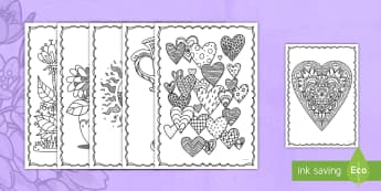 Mother's Day Mindfulness Coloring Activity - Mother\'s Day, coloring, art, mindfulness