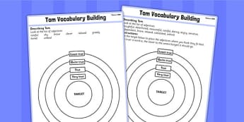 Toms Midnight Garden Target Description Adjectives - target, tom