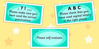 Time Saving Stickers for Marking Writing - marking, writing