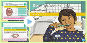 Year 4 Reading Assessment Non-Fiction Term 1 Guided Lesson PowerPoint - KS2, comprehension, read, guidance, assess,