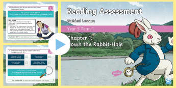 Year 5 Reading Assessment Fiction Term 2 Guided Lesson PowerPoint - Year 3, Year 4 & Year 5 Reading Assessment Guided Lesson PowerPoints, KS2, reading, read, assessment