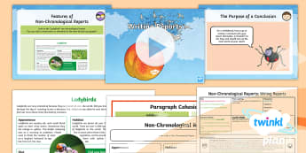 PlanIt Y4 Explorers: James and the Giant Peach Lesson Pack Non-Chronological Reports 3 - Explorers: James and the Giant Peach, Roald Dahl, Non-Chronological report, spiders, conclusion, par