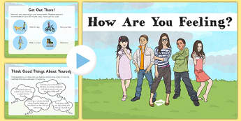 Children's Mental Health PowerPoint - health, mental, awareness, anger, control, help