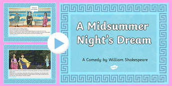 Shakespeare's Midsummer Night's Dream PowerPoint