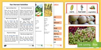 Fun Harvest Activities - harvest, games, festival, party, farmer, Scottish