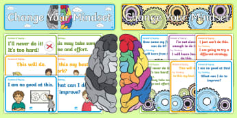 Developing Growth Mindset Display Pack - Download and Print
