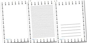 Male Doctor Portrait Page Borders- Portrait Page Borders - Page border, border, writing template, writing aid, writing frame, a4 border, template, templates, landscape