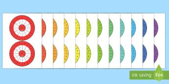 عجلات جدول الضرب 1 إلى 12  - جدول الضرب، ضرب الأعداد، حساب، عربي، رياضيات، الضرب وا