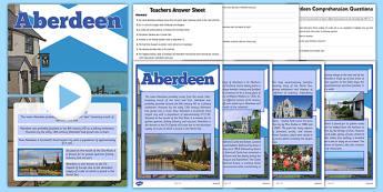 Aberdeen Resource Pack - aberdeen, resource pack, resource, pack, scotland, cfe