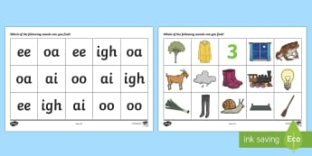 AI EE IGH OA OO Sound Mat - sound mat, sound, mat, sounds, letters and sounds, AI, EE, IGH, OA, OO, phonics, pronunciation, literacy