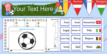 Childminder Euro 2016 Resource Pack