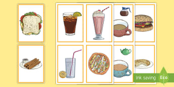 Spanish Food at the Cafe: Bebidas y Comida Flashcards - spanish food, spanish drink, Spain, cafe, ordering food and drink,