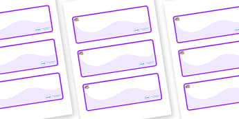 Oyster Themed Editable Drawer-Peg-Name Labels (Colourful) - Themed Classroom Label Templates, Resource Labels, Name Labels, Editable Labels, Drawer Labels, Coat Peg Labels, Peg Label, KS1 Labels, Foundation Labels, Foundation Stage Labels, Teaching L
