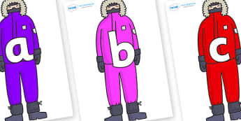 Phoneme Set on Arctic Explorers - Phoneme set, phonemes, phoneme, Letters and Sounds, DfES, display, Phase 1, Phase 2, Phase 3, Phase 5, Foundation, Literacy