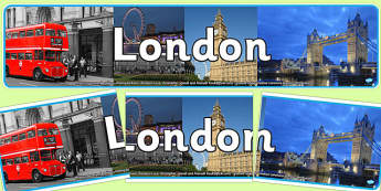 London Photo Display Banner - london, photo banner, photo display banner, display banner, display header, header, banner, header for display, photos