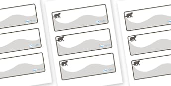 Panther Themed Editable Drawer-Peg-Name Labels (Colourful) - Themed Classroom Label Templates, Resource Labels, Name Labels, Editable Labels, Drawer Labels, Coat Peg Labels, Peg Label, KS1 Labels, Foundation Labels, Foundation Stage Labels, Teaching