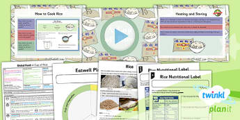 PlanIt - DT UKS2 - Global Food Lesson 3: A Cup of Rice Lesson Pack