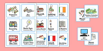 Visual Timetable for Reception FS2 Polish Translation - polish, Visual Timetable, SEN, Daily Timetable, School Day, Daily Activities, Daily Routine, Foundation Stage
