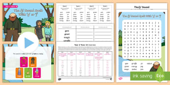 Year 2 Term 1A Week 5 Spelling Pack - Spelling Lists, Word Lists, Autumn Term, List Pack, SPaG